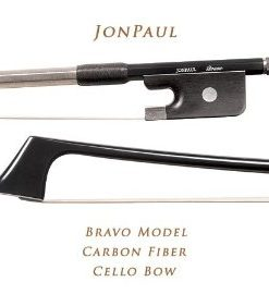 JonPaul Bravo Cello Bow 4/4 Size